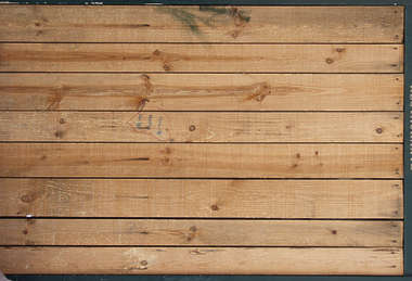 wood bare planks stains