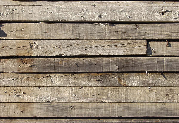 wood planks old dirty damaged bare