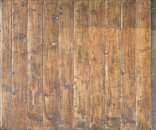wood planks old painted bare