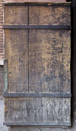 morocco door medieval old planks wainscotting