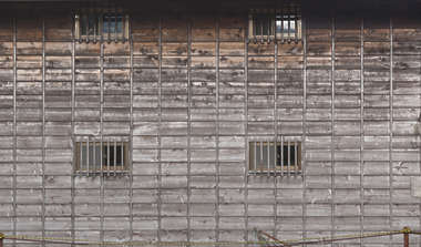 japan wood siding old weathered bare