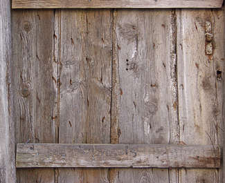 wood planks old nails damaged worn dirty