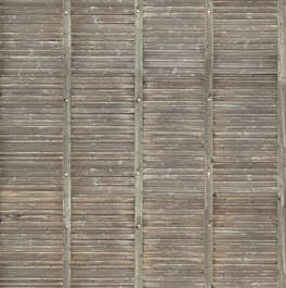 wood planks inside roof roofing
