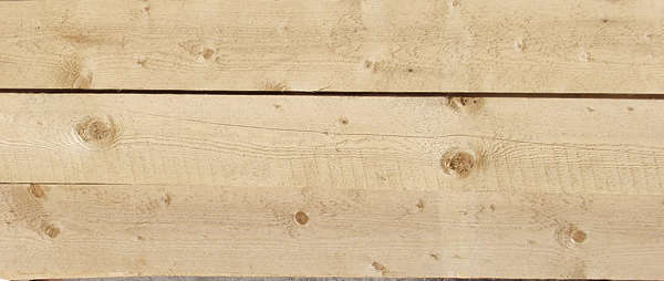wood planks clean knot