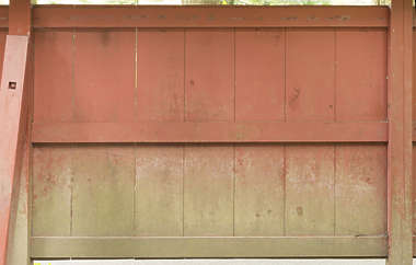 japan wood planks painted dirty fence siding