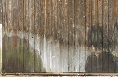 japan wood planks old weathered siding mossy