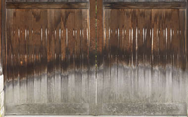 japan wood planks weathered old japanese facade siding plank