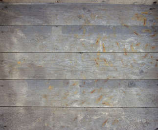 wood planks old bare nails rust dirty siding