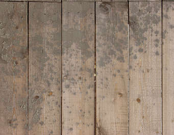wood planks dirty mud bare splatter siding