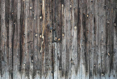wood planks old grain knots bare siding