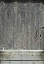 wood planks old medieval door bare siding