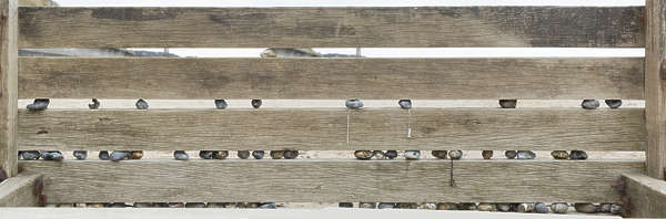 UK wood planks wooden fence
