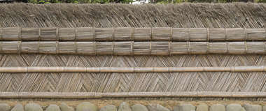 fence barrier bamboo reeds reed japan
