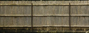 wood planks old fence