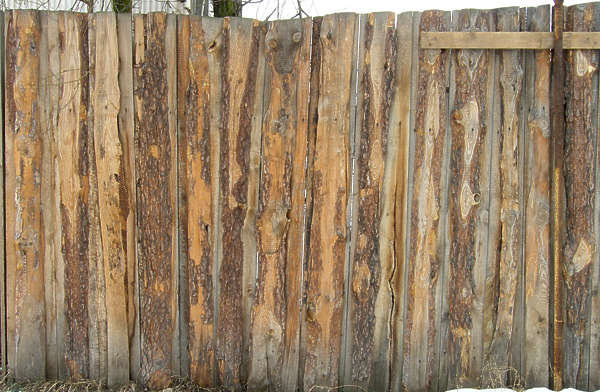 wood planks old fence wall