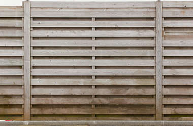fence wood planks