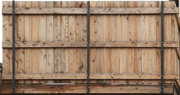 wood planks raw fence weathered