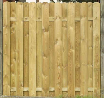 wooden fence wood planks