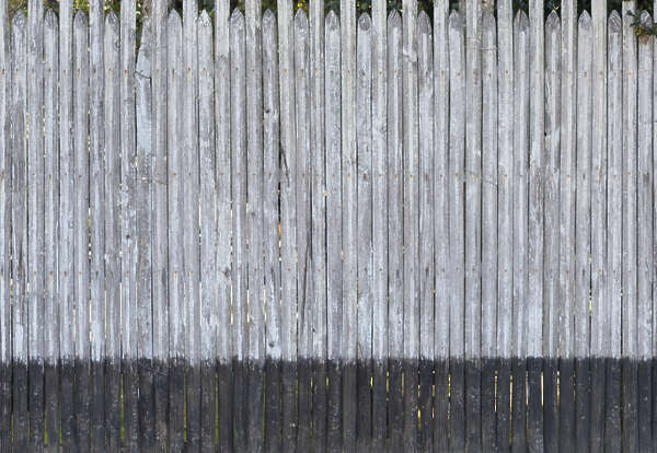 wood planks fence france