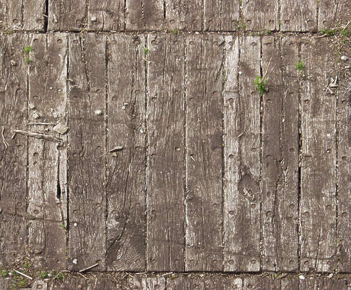 old wood planks dirty rough bare damaged
