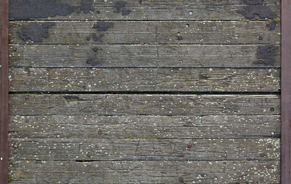 wood planks old pier floor