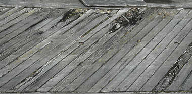 wood planks old rotten broken
