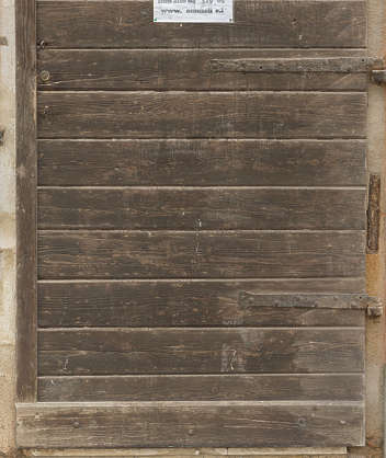 venice italy wood planks old