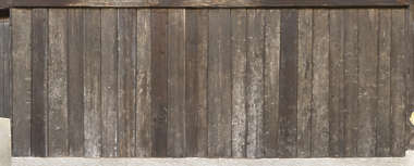 wood planks old siding fence bare