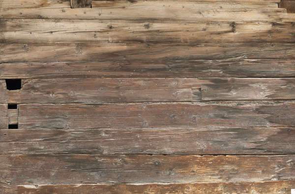 wood planks old siding dirty bare