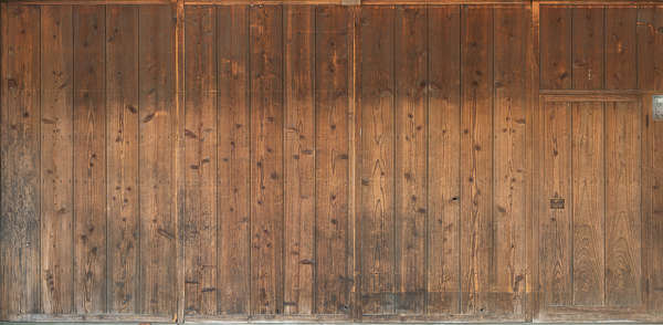 wood planks old worn bare japan