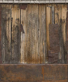 USA Bodie ghosttown ghost town old western goldrush desert arid metal rusted plates bodie_016