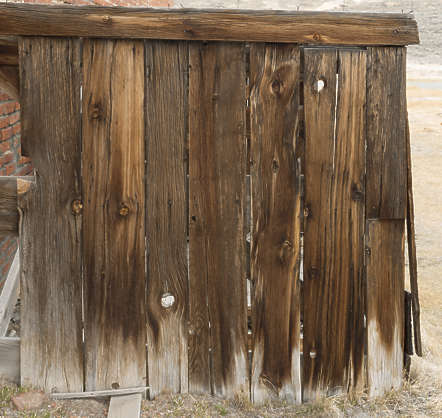 USA Bodie ghosttown ghost town old western goldrush desert arid wood planks