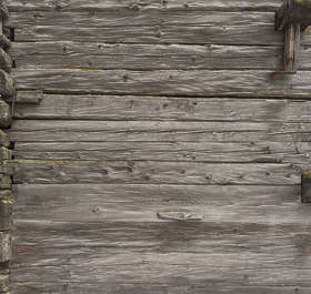 wood planks old worn weathered bare