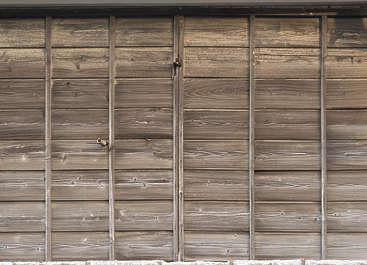 japan wood planks bare overlapping old siding