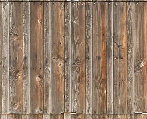 wood planks bare siding