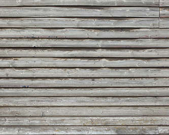 wood planks overlapping overlapping bare siding