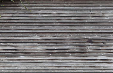 wood planks old weathered bare siding