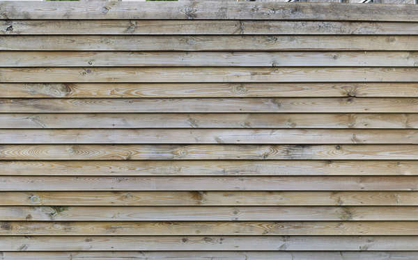 wood planks raw bare siding