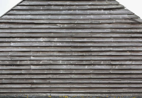 wood planks bare UK siding