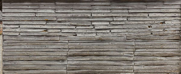 wood planks old overlapping bare siding