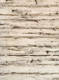 wood planks white painted siding
