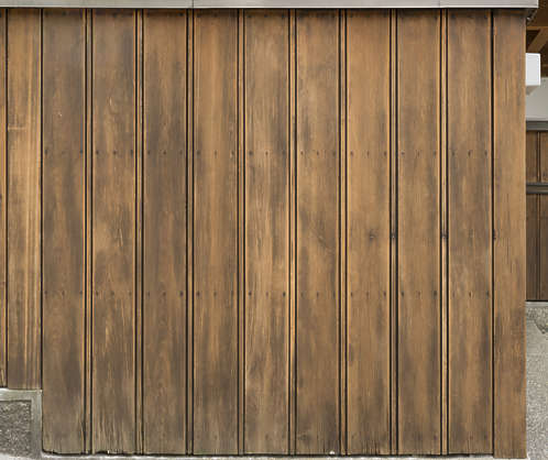 japan wood planks siding old painted