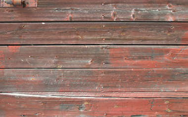 wood planks old paint siding