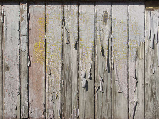 wood planks old paint bare worn siding