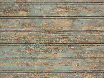 wood planks painted old worn crackles closeup siding