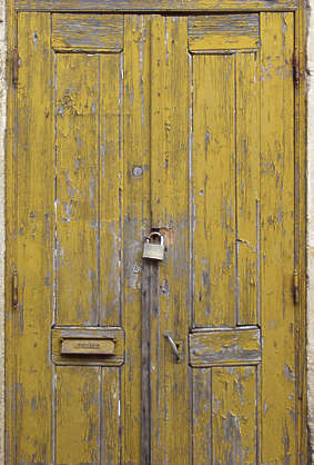 wood painted old planks cracked weathered door siding