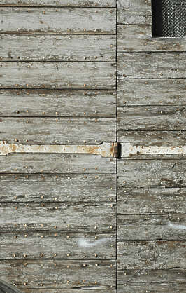 wood planks painted old cracks crackled weathered siding