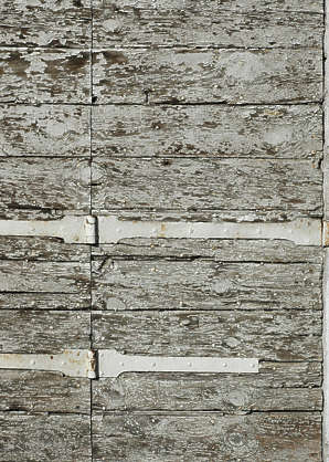 wood planks painted old rough cracks crackled siding
