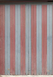 wood planks double stripes painted siding