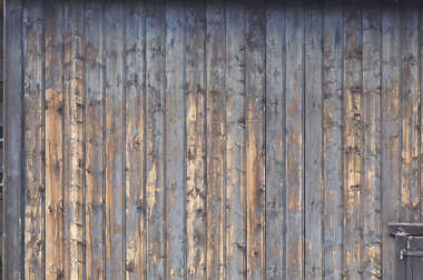 wood planks painted worn old siding